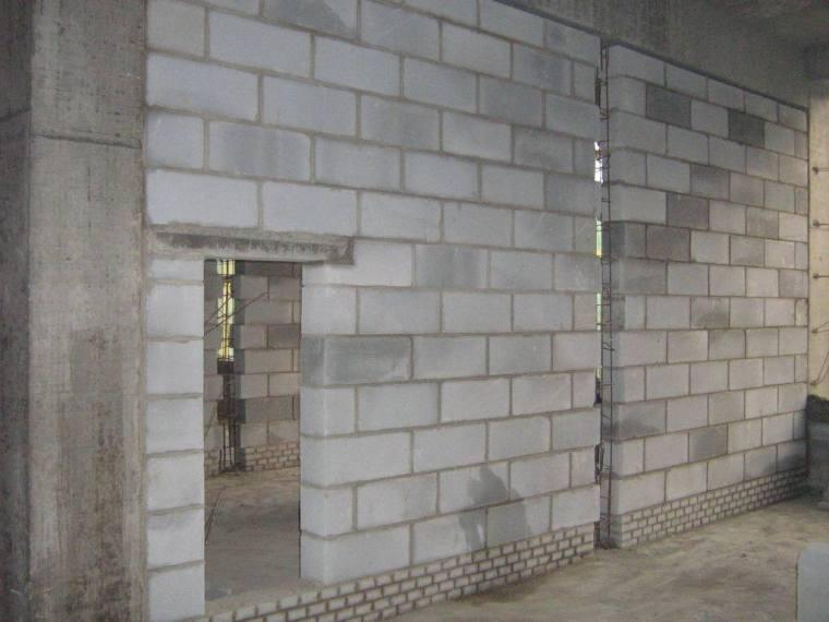 混凝土砌块砌筑工程施工技术交底