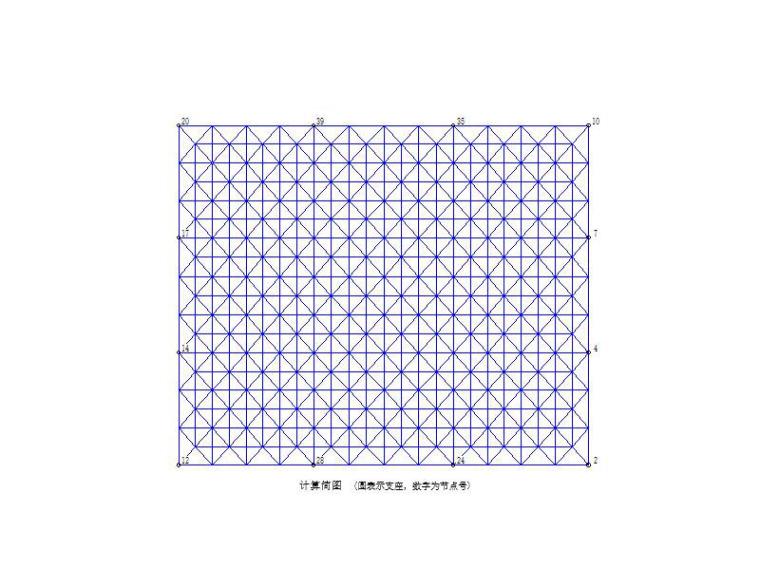 3D3S普通螺栓球双层网架结构计算书2015