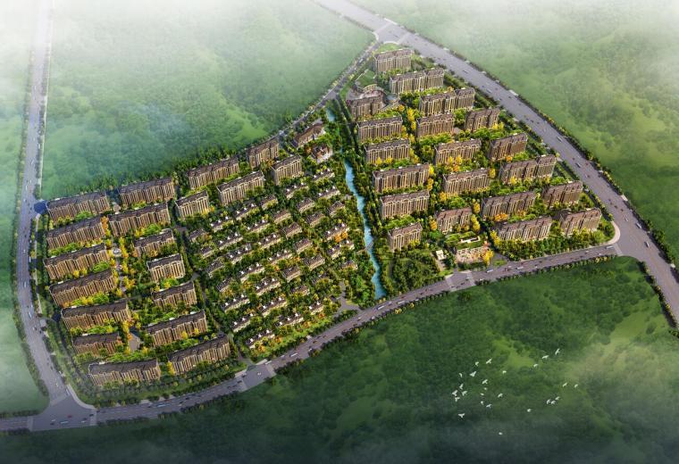 [江苏]欧式风格大型住宅建筑方案设计