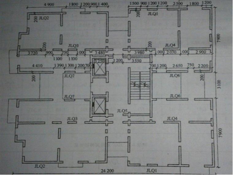 住宅楼剪力墙结构设计计算书