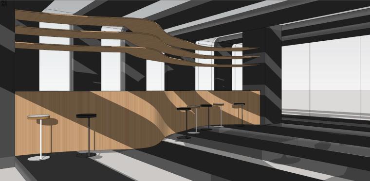 现代时尚/概念咖啡 室内 (1)