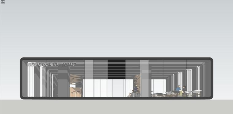 现代时尚/概念咖啡 室内 (3)