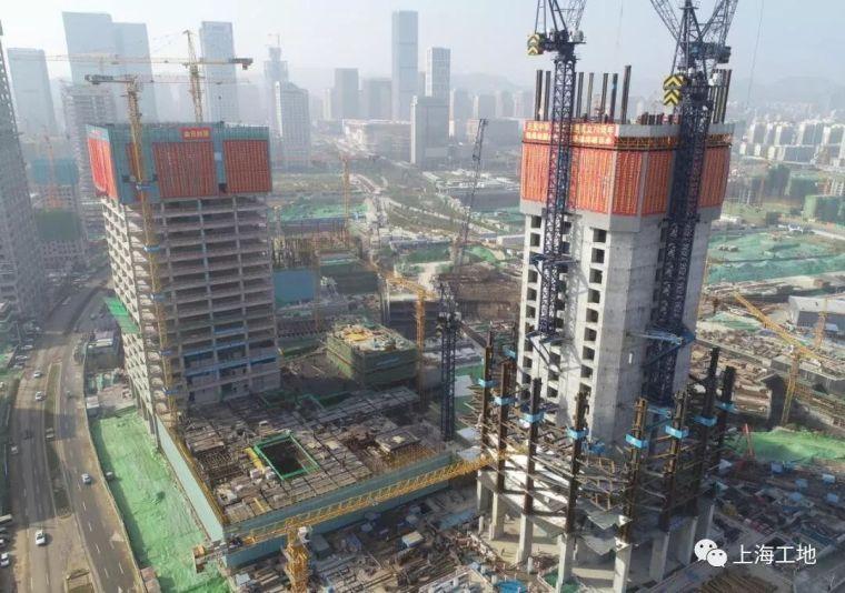 山东第一高楼今日百米塔楼封顶!