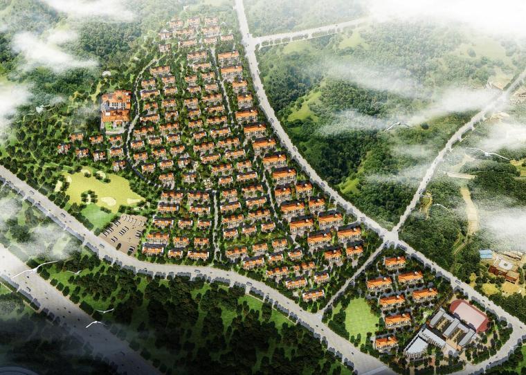 [山西]盛高·日出东山住宅细规划设计