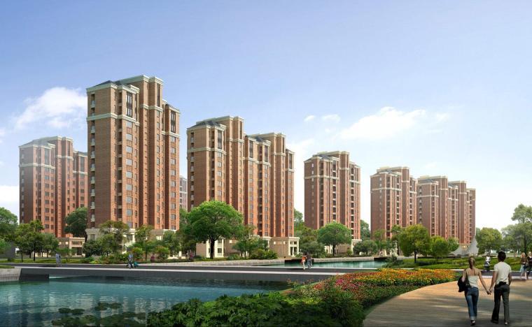 [上海]欧陆风格新凯家园住宅建筑概念设计