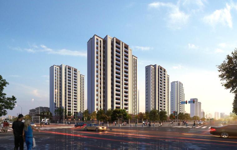 [江苏]新中式风格住宅建筑模型设计