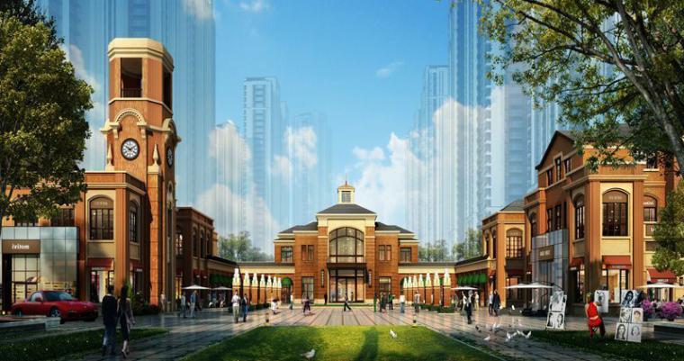 芜湖欧陆风格海上传奇建筑模型设计