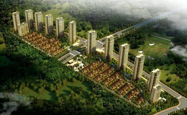 [江西]新古典风格住宅建筑方案文本