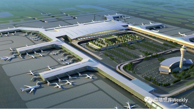 幕墙国优复查动态:广州白云机场二期航站楼