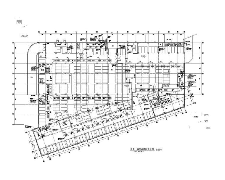 河北唐山大型商场暖通设计施工图
