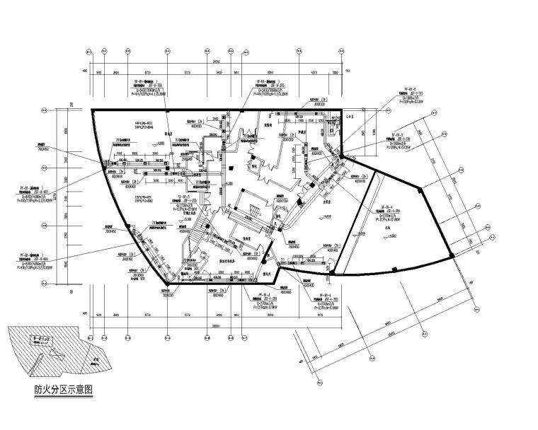 湖南博物馆暖通设计施工图