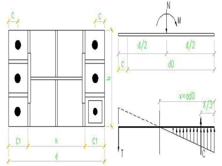钢结构刚接柱脚锚栓自动计算表格