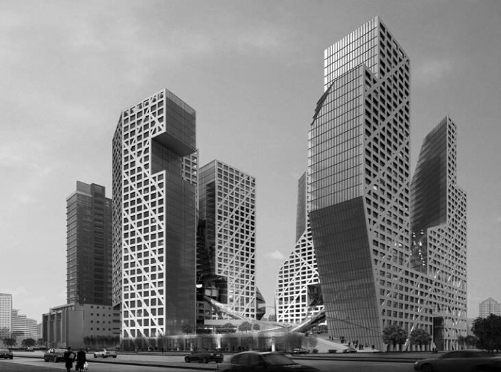 成都来福士广场结构总体设计