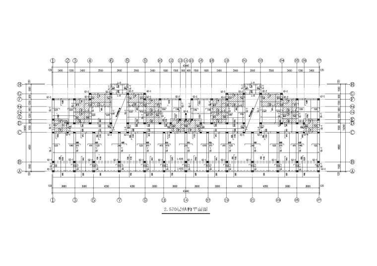 6+1层砌体住宅楼结构施工图纸