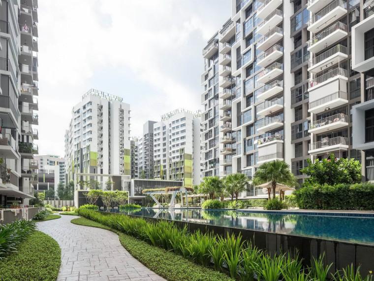 新加坡BlossomResidences生态住宅景观