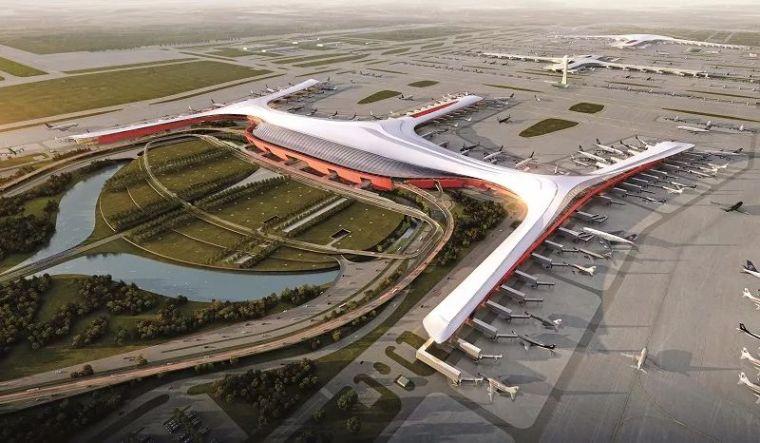 那些「落选」的北京大兴机场方案,点赞!_6