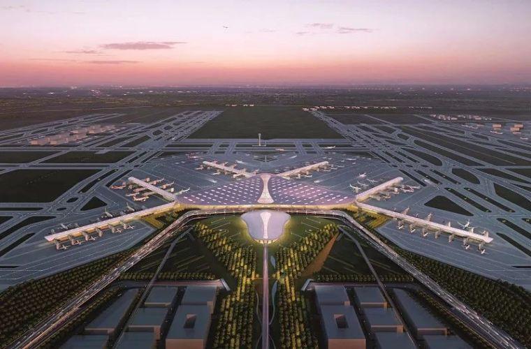 那些「落选」的北京大兴机场方案,点赞!_7