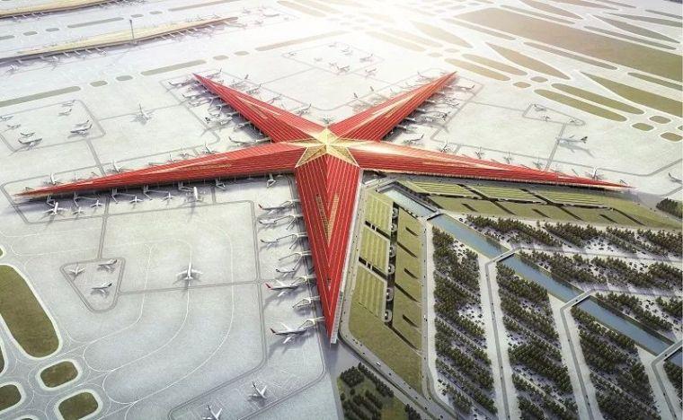 那些「落选」的北京大兴机场方案,点赞!_10