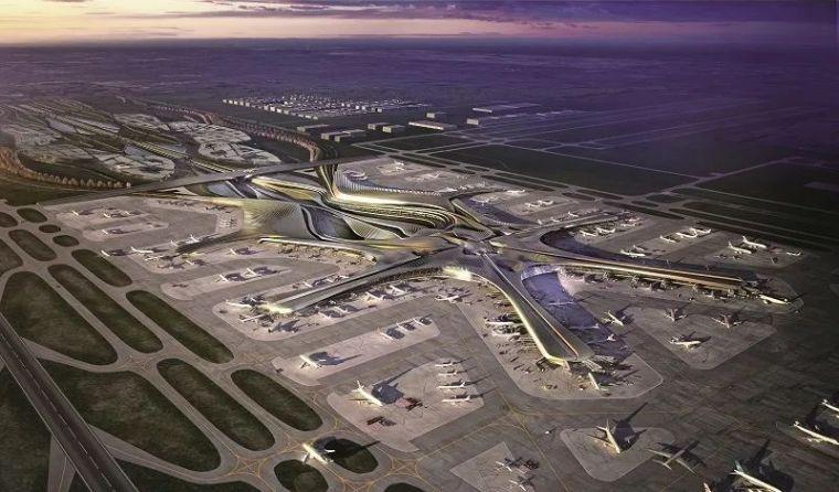 那些「落选」的北京大兴机场方案,点赞!_9