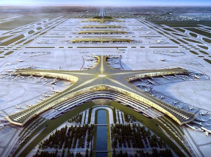 那些「落选」的北京大兴机场方案,点赞!_16