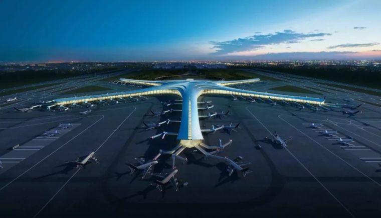 那些「落选」的北京大兴机场方案,点赞!_19