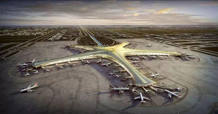 那些「落选」的北京大兴机场方案,点赞!_18