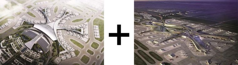 那些「落选」的北京大兴机场方案,点赞!_20