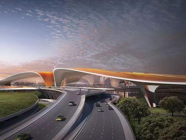 那些「落选」的北京大兴机场方案,点赞!_22