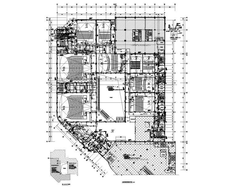 吉林摩天活力城影院暖通设计施工图