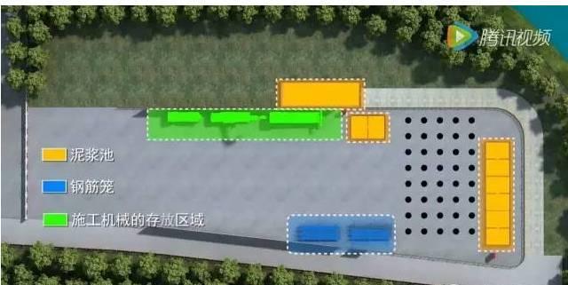 钻孔灌注桩施工全过程3D动画截图