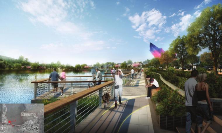 [湖北]现代风格森林公园景观方案设计