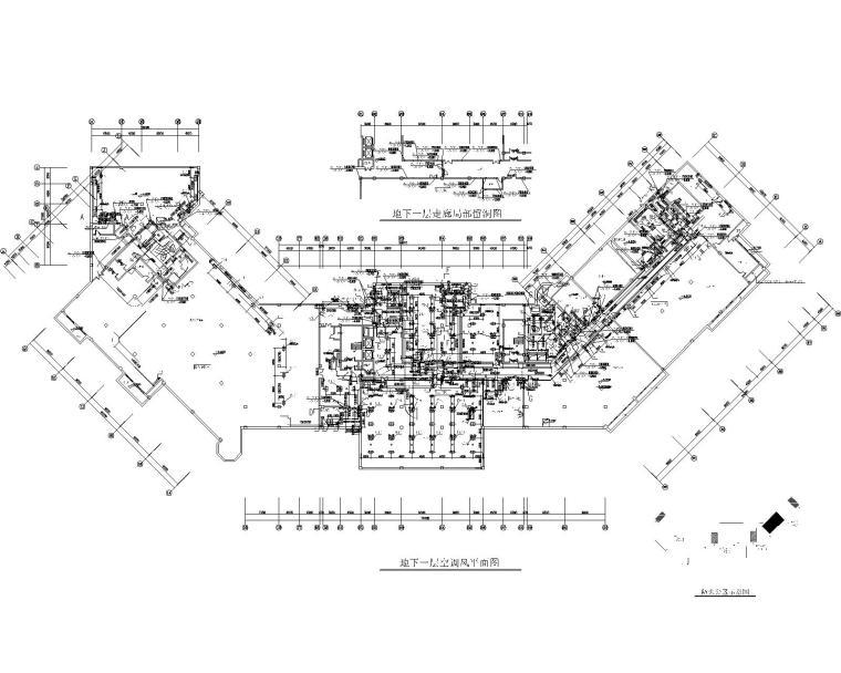 山东胶南国际海鲜城主力店暖通设计施工图