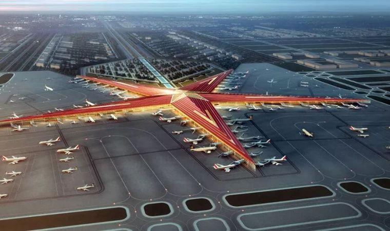 那些「落选」的北京大兴机场方案,点赞!_1