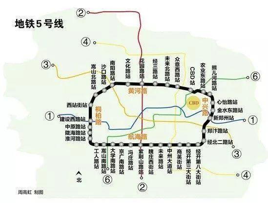 正在进行时:郑州地铁在建十一条线路