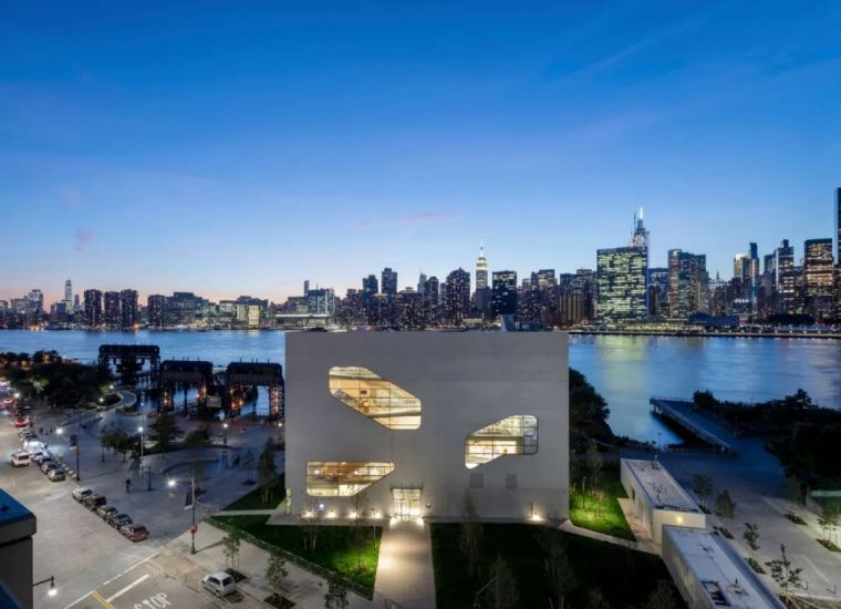 颠覆传统图书馆设计,斯蒂文·霍尔纽约新作