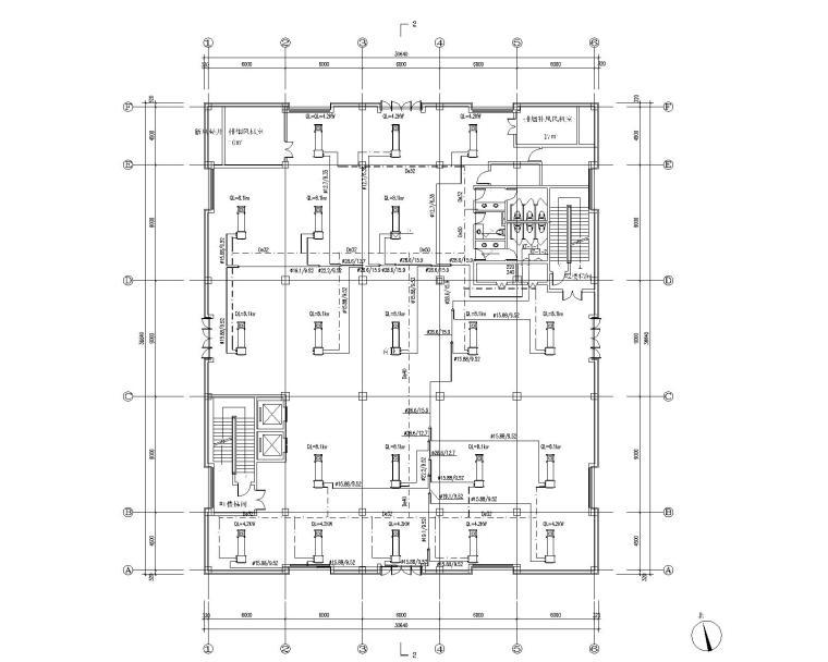 吉林盘锦荣兴古驿商贸园项目暖通设计施工图