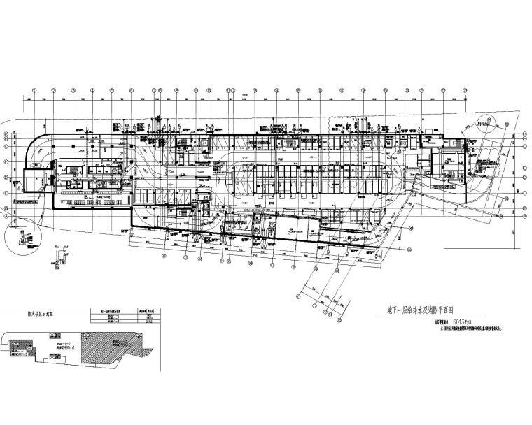 上海国际设计中心给排水施工图