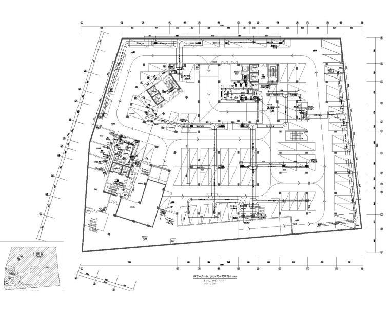 广州十三层酒店办公楼暖通设计施工图