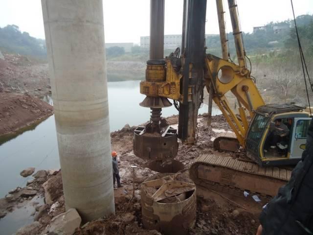 桥梁桩基旋挖钻钻孔施工埋设护筒要点