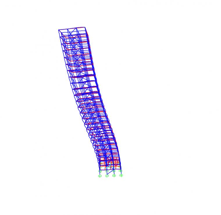 钢结构直接分析设计法在sap2000中的应用