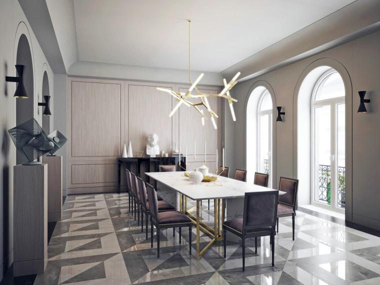 34套欧式风格住宅设计案例高清效果图合集