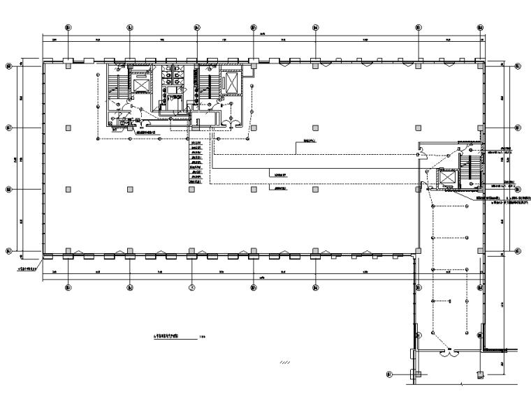 知名院丨成都高新产业园办公楼强电施工图
