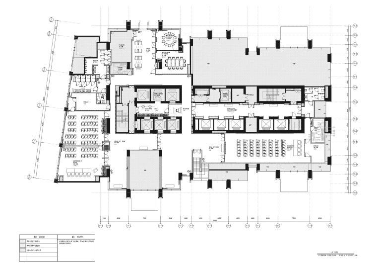 [上海]宝格丽酒店装饰工程施工图+效果图