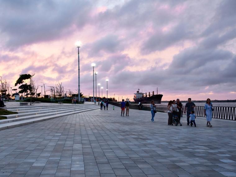 哥伦比亚码头公共空间