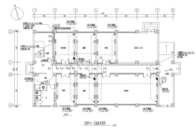 江苏大型工业厂房及配套建筑全套施工图纸