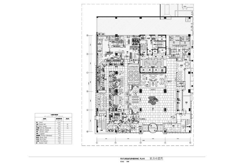 [湖北]十堰希尔顿逸林酒店施工图+实景拍摄