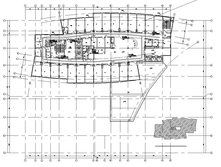 上海保税区综合办公楼及会议中心电气施工图