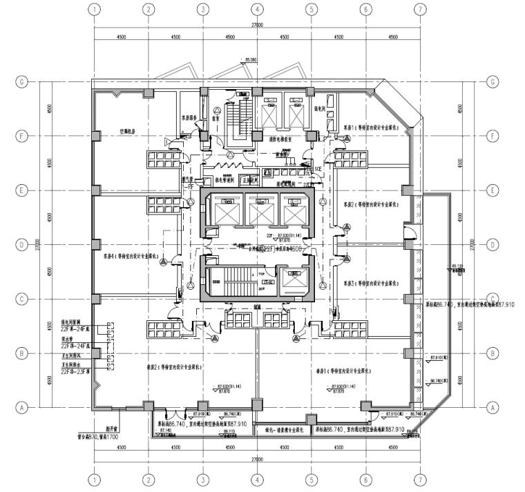 上海老旧建筑物改造工程电气施工图