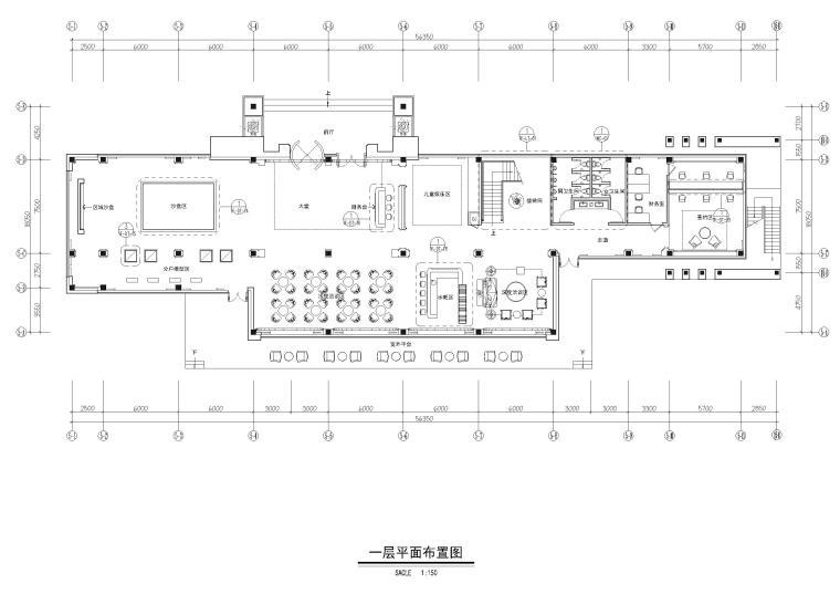 [山东]青岛中洲半岛城邦售楼处施工图+实景