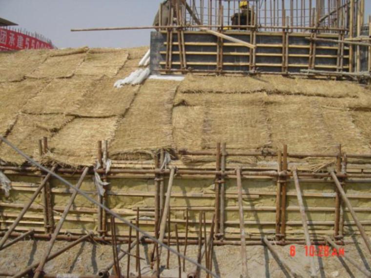 混凝土工程冬季施工方案-PPT课件-保温养护作法